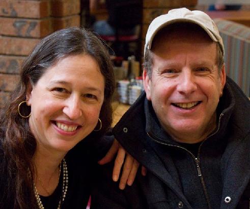 Марк Феррари (Mark Ferrari) с женой Шэннон Пейдж (Shannon Page). Фото Джима Хайнса ( Jim Hines).