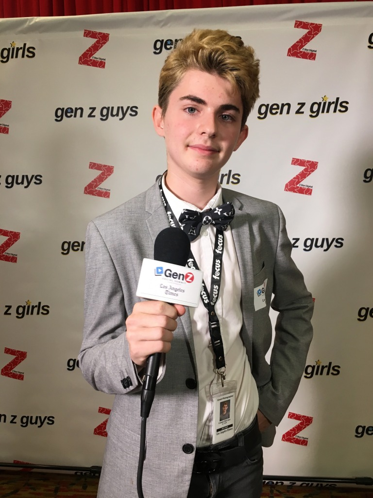 Connor McCrory at the Gen Z Social Summit